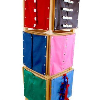 12 Bastidores con mueble - Material Montessori