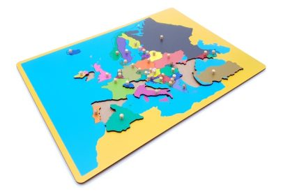 MAPA PUZZLE DE EUROPA-2057
