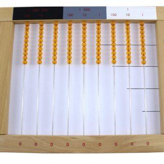 Ábaco Dorado - Material Montessori-vista frontal