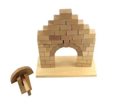 Arco Romano-Material Montessori-vista frontal
