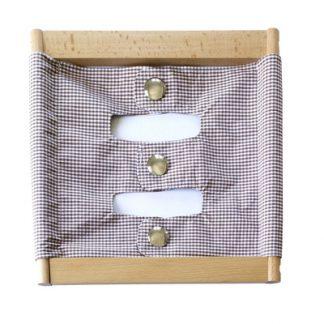 Bastidor grande de broches - Material Montessori-vista frontal