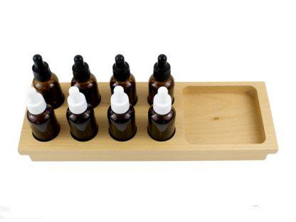 Botellas de sabores-Material Montessori-vista frontal