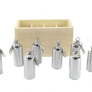 Botellas térmicas de metal - Material Montessori-vista frontal