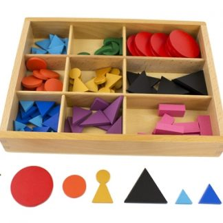 Caja de símbolos gramaticales - Material Montessori