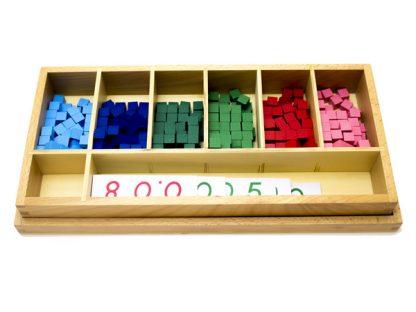 Quality Premium Cálculo de Fracción Decimal - Material Montessori- vista frontal