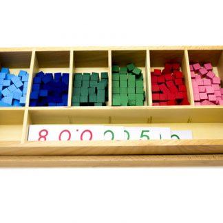 Quality Premium Fracción Decimal I - Material Montessori- vista frontal