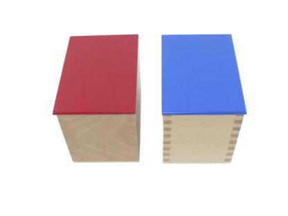Cilindros sonoros de madera - Material Montessori-vista frontal
