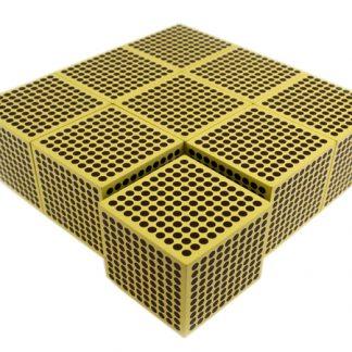 9 Cubos de Millares (en madera)-vista frontal-material montessori