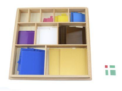 Decanomio - Material Montessori- vista frontal
