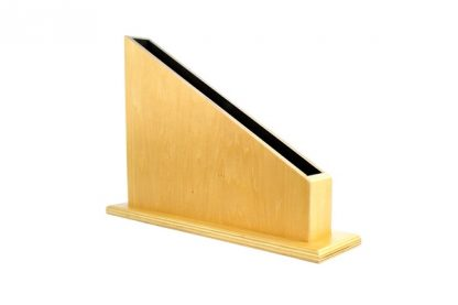 Expositor de barras-vista frontal-material montessori