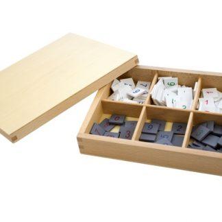 Fichas Numéricas - Material Montessori