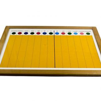 Quality Premium Fracción Decimal II - Material Montessori-vista frontal