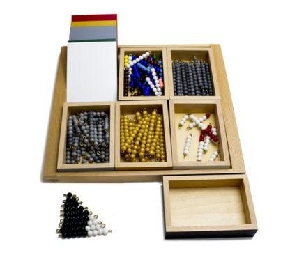 Juego Elemental de la serpiente. Negativos. Montessori.(caja abierta)