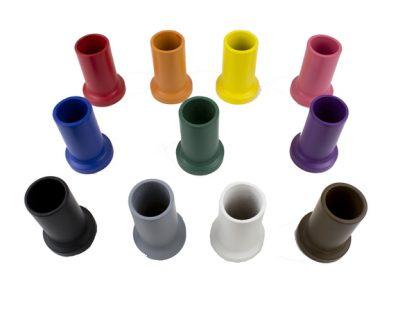 Set de 11 botes de colores para lápices-Material Montessori
