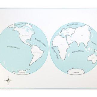El mapa de control del mundo en cartulina es perfecto para que los niños aprendan los nombres de los diferentes continentes,vista frontal,foto redes sociales,mmm206