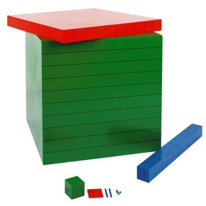 material de jerarquias-material montessori-vista frontal