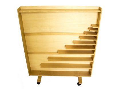 Mueble Gabinete de Perlas - Material Montessori-vista frontal