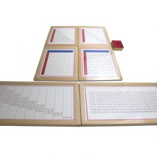 Quality Premium Tablero de la suma-vista frontal-material montessori