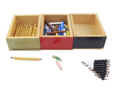 Serpiente de la suma - Material Montessori-vista frontal