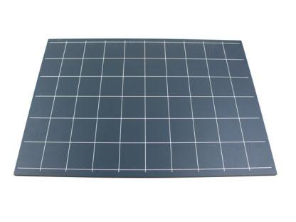 Pizarra de líneas y cuadrados-vista frontal-material montessori