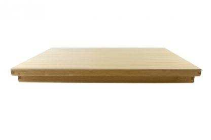 Caja de madera con set de piezas para la iniciación a las formas geométricas planas.