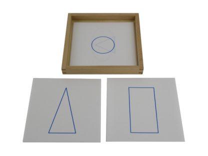 tarjetas-geométricas-vista-superior-material-montessori