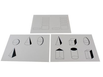 tarjetas geométricas 2-vista superior-material-montessori