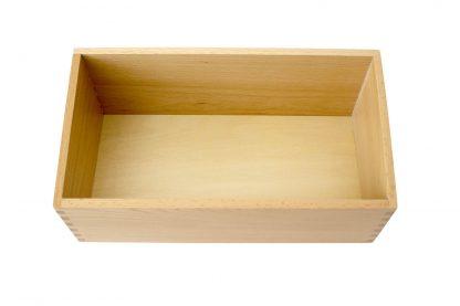 Caja Grande para Letras de Lija- Material Montessori
