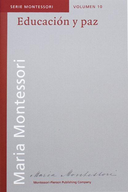 Educación y paz- Material Montessori