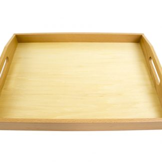 bandeja madera grande-vista frontal-material montessori