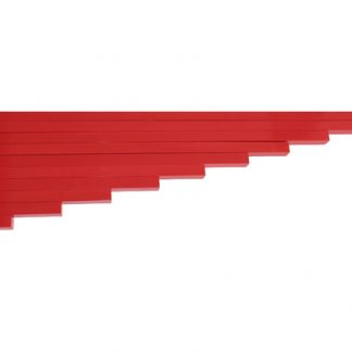barras rojas-vista frontal-material montessori