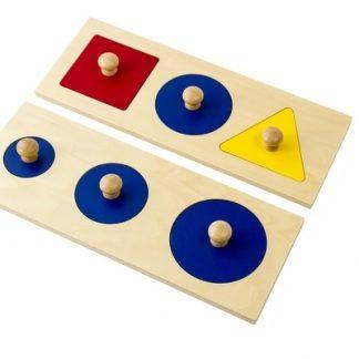 Puzzle de múltiples figuras geométricas MMM004