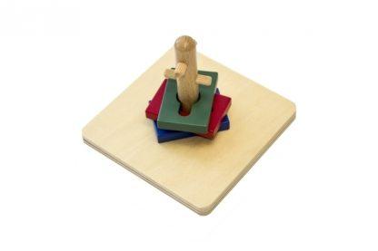 MMM015 - Girar y clasificar montessori - material montessori