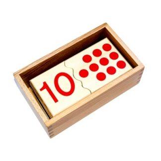 Este material consta de una caja de madera con 20 piezas. vista superior, foto redes sociales,mmm356