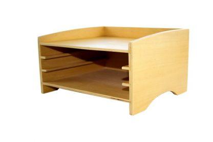 Gabinete de 3 Puzzles - Material Montessori