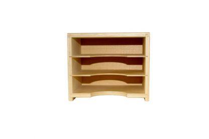 Gabinete Pequeño de Hojas - Material Montessori- vista frontal