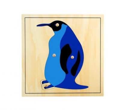 Este material consta de un puzzle de madera que le enseña al niño las diferentes partes del pingüino,vista frontal,foto redes sociales,mmm329