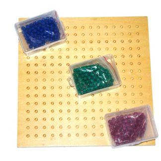 Tablero raíz cuadrada - Material Montessori