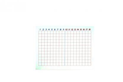 El tablero de la resta es un material que corresponde al área de matemáticas para la etapa de edad de 6-12 años,vista