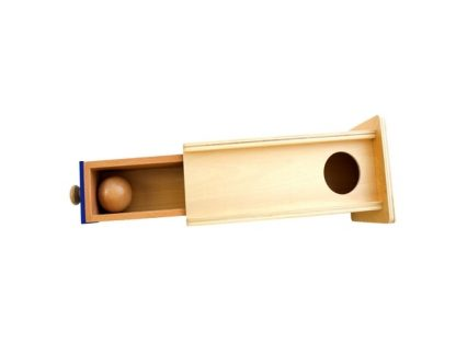 Caja de Permanencia con Cajón Largo-Material Montessori-vista frontal