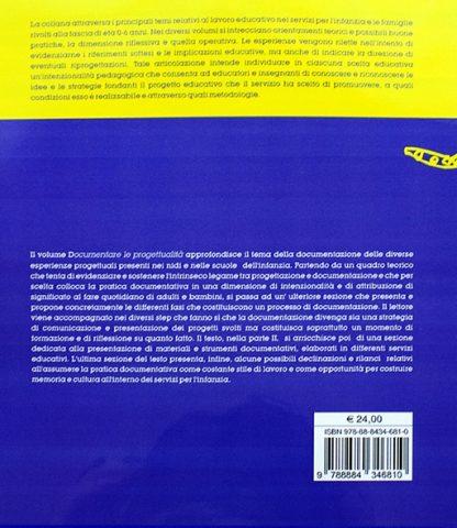 Documentare le Progettualità ( Nei servizi e nelle scuole per l'infanzia ) - Material Montessori