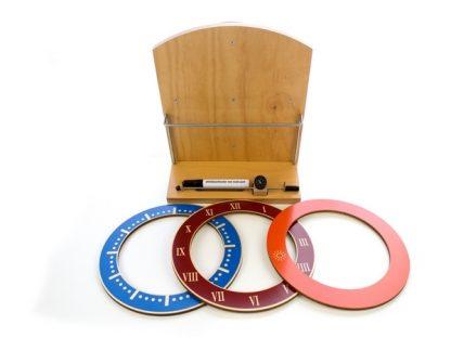 Reloj Solaris-Material Montessori-vista frontal