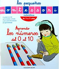 pequeños Montessori- aprendo los números del 0 al 10