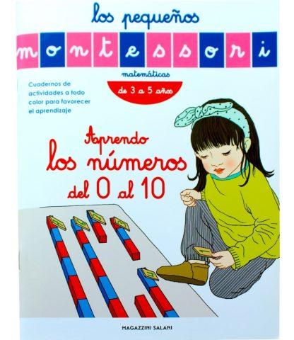 Aprendo los Números del 0 al 10- Material Montessori