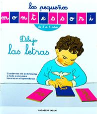 pequeños Montessori- dibuja las letras