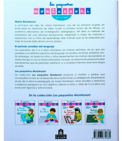 Dibujo Las Letras - Material Montessori