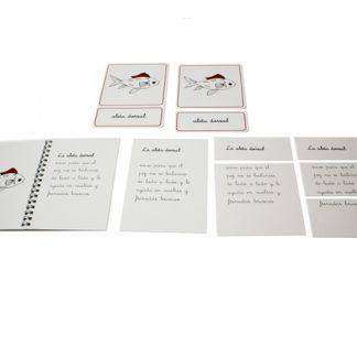 Nomenclatura científica: Pez -Material Montessori