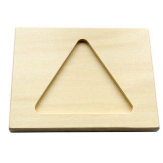 Tablero Sencillo de Figuras para Perlas - Material Montessori
