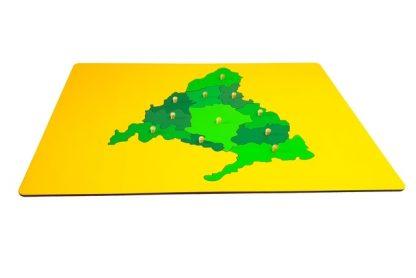 mapa puzzle de la comunidad de madrid-material montessori
