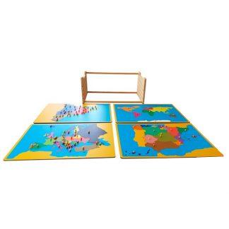 pack-mueble-para-puzzles-y-4-puzzles4-cataluña